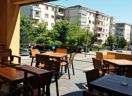 Darius Pizza - Str Dunării nr.78 - Terasa
